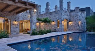 בית במרכז הארץ - סגנון ירושלמי
